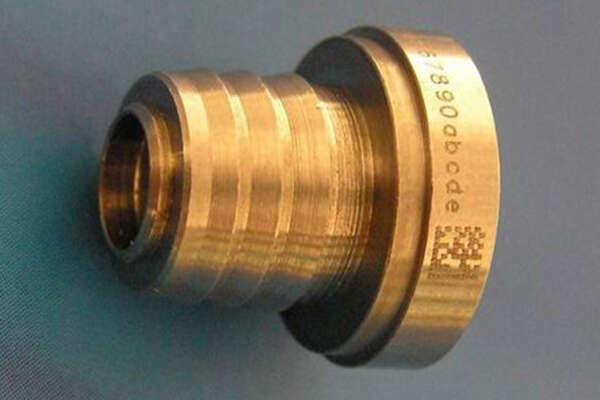 Лазерная маркировка на металле 1