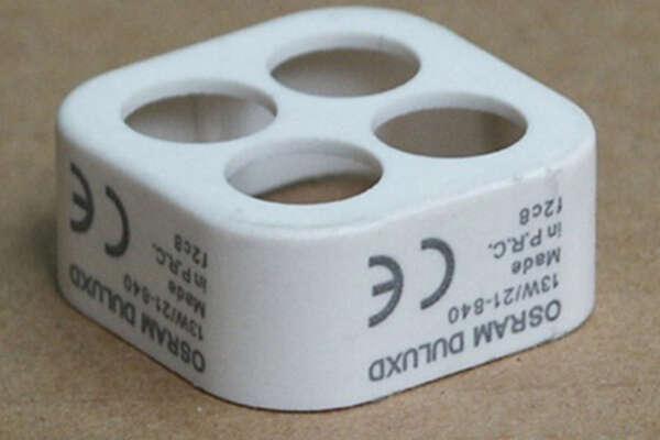 Лазерная маркировка на пластике 1
