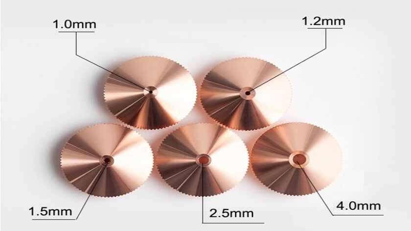 Как выбрать сопла для лазерной резки различной мощности?