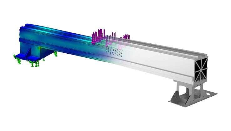 бимс авиационно - алюминиевого сплава пятого поколения
