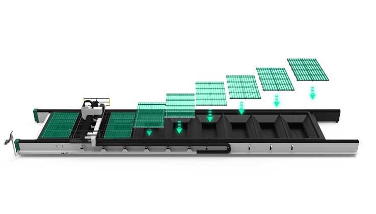 Модульная конструкция с одной платформой